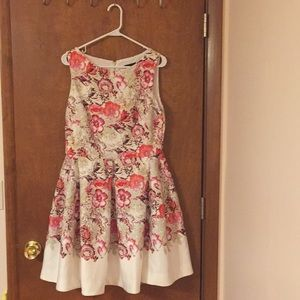Just taylor dress size 12 fit and flare